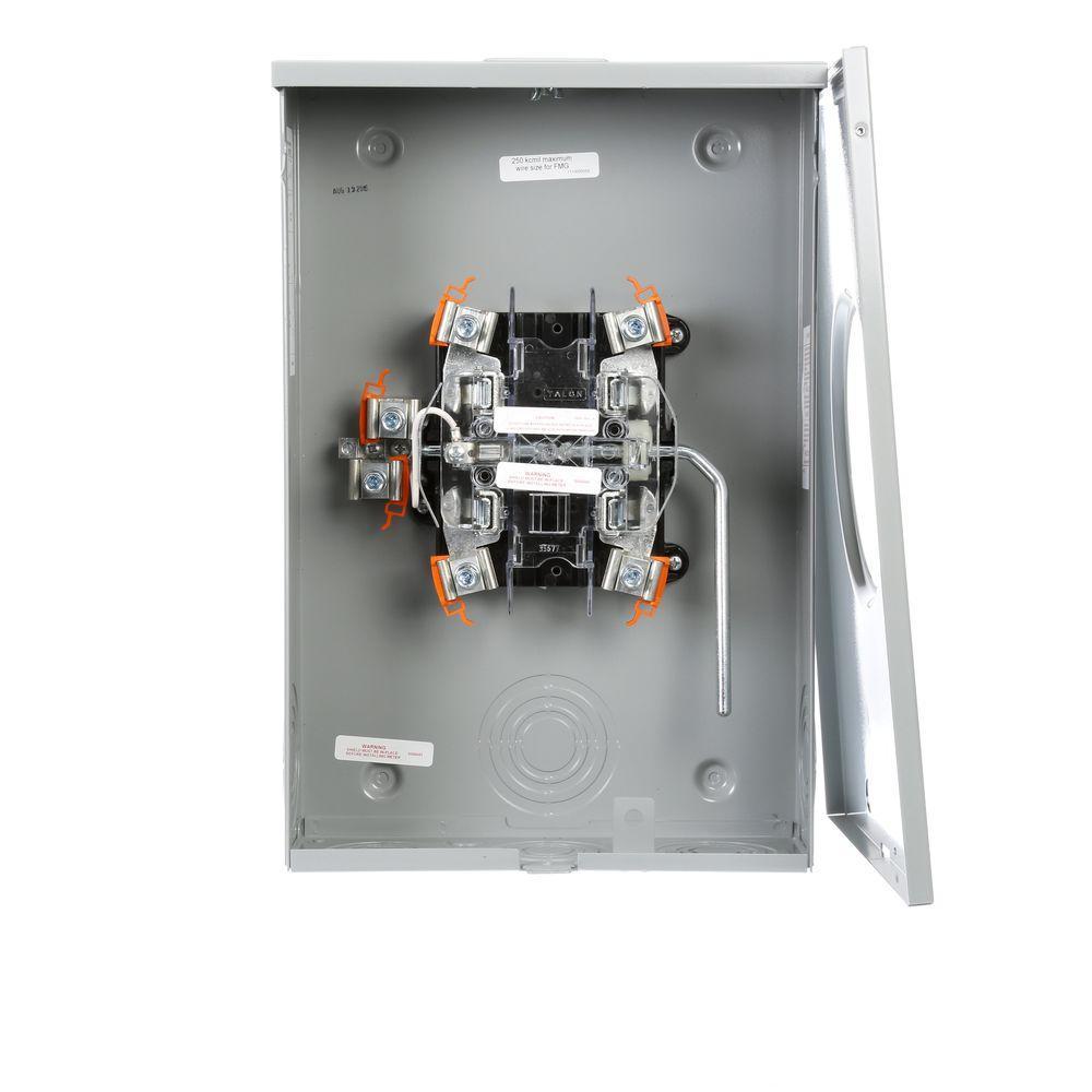 200 Amp Lever-Bypass Overhead/Underground Meter Socket