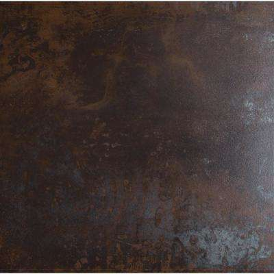 Antares Saturn Coal 20 in. x 20 in. Glazed Porcelain Floor and Wall Tile (11.12 sq. ft. / case)