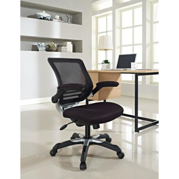 MODWAY Edge Mesh Office Chair in Black
