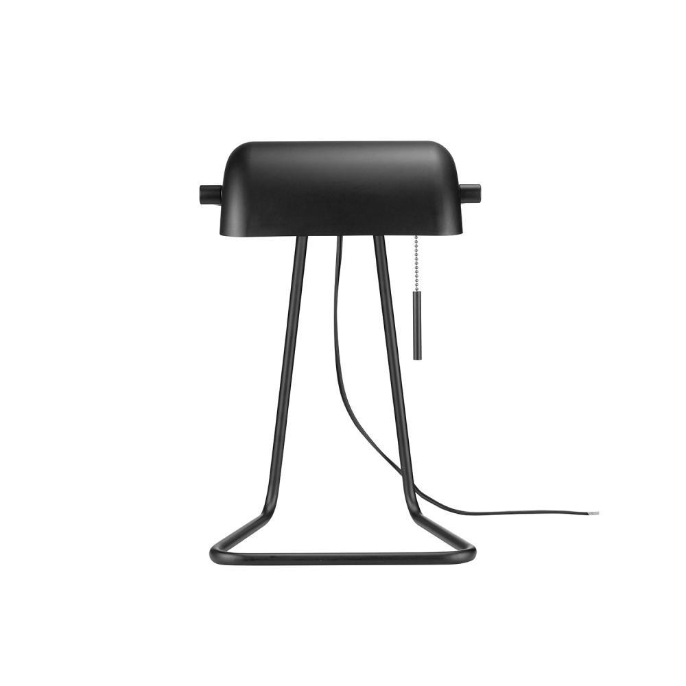 Harrison 15 in. Matte Black Task Lamp