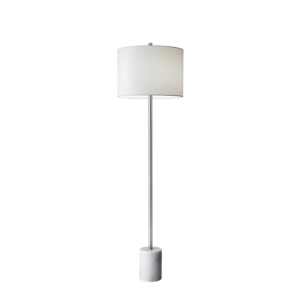 Adesso Blythe 62 in. Steel Floor Lamp