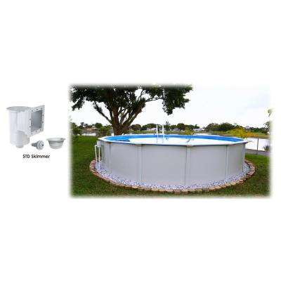 18 ft. Round x 52 in. D Above Ground Pool Package (1 Additional Item Included)