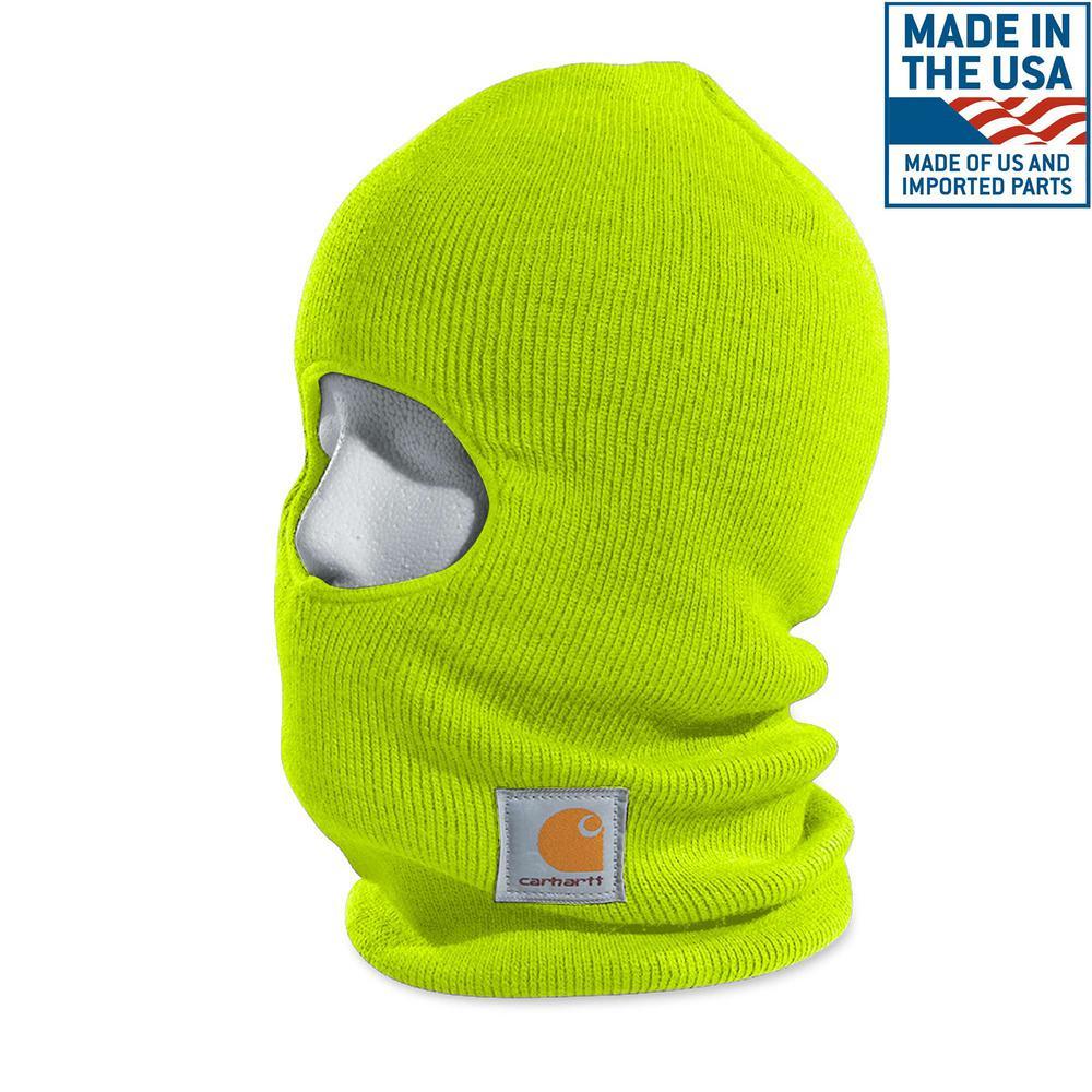 f79ce47edd9e5 Carhartt Men s OFA Army Green Acrylic Knit Hat with Visor-A164-ARG ...