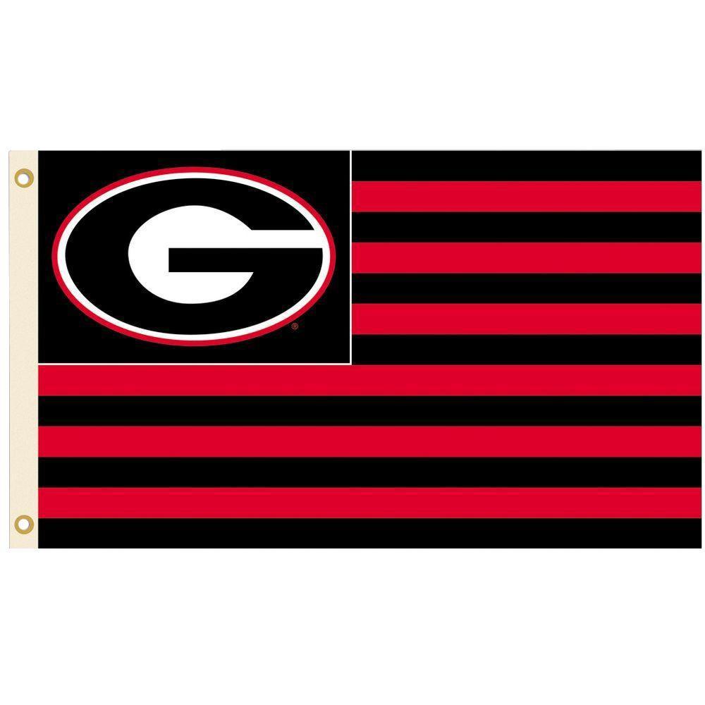 BSI Products NCAA 3 ft. x 5 ft. Georgia Flag