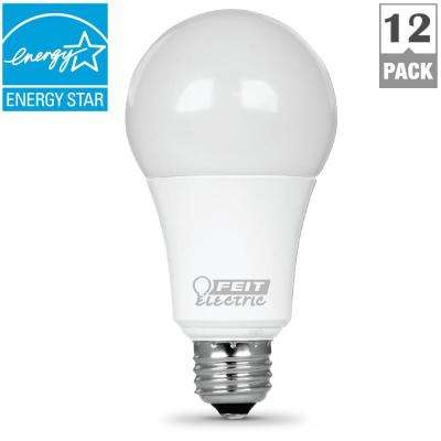 100W Equivalent Warm White (3000K) A19 Dimmable LED Light Bulb (Case of 12)