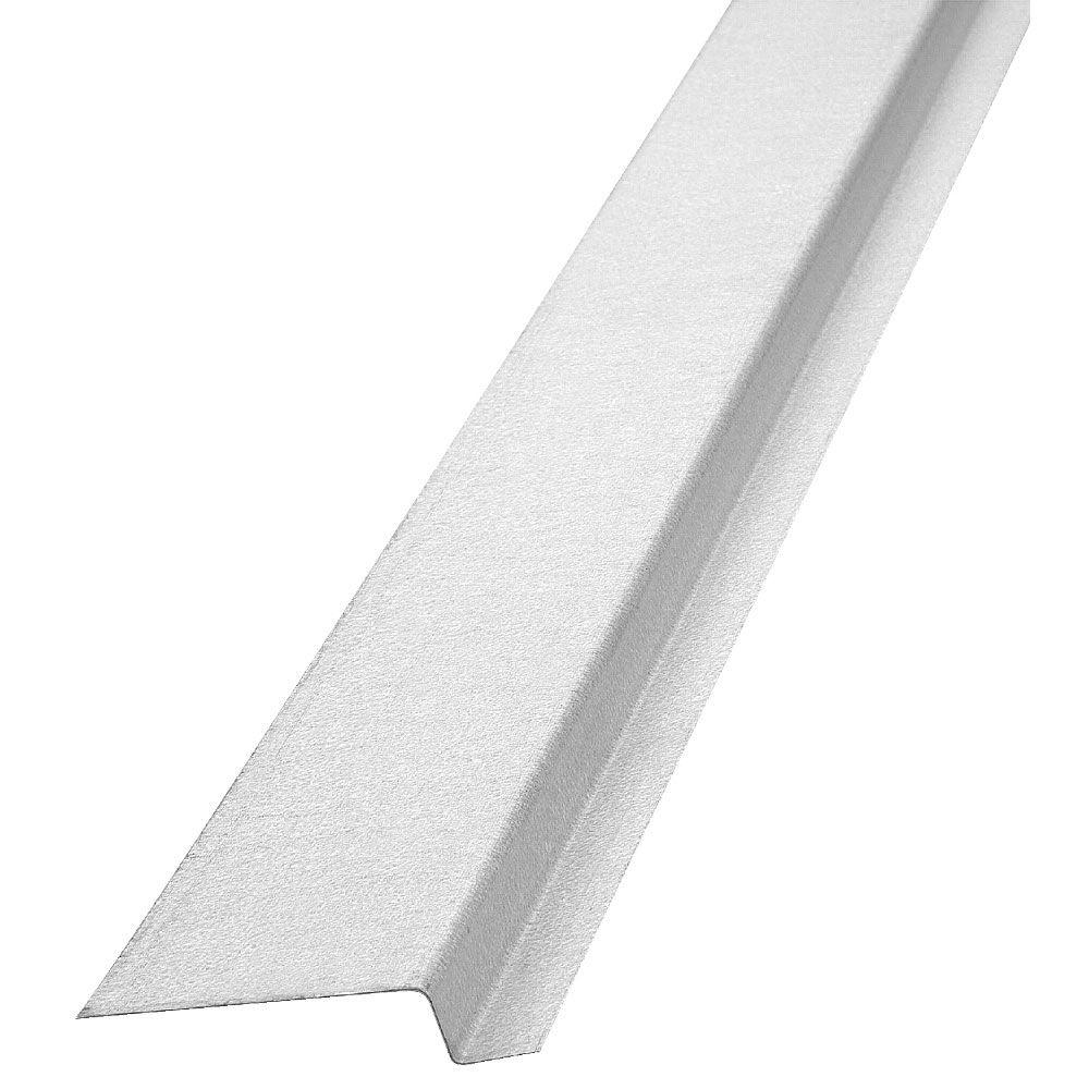 Construction Metals Siding Z Bar 1/2 in. x 3/4 in. x 2 in. x 8 ft. Galvanized
