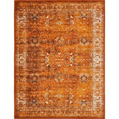 Istanbul Terracotta 13 ft. x 19 ft. 8 in. Area Rug
