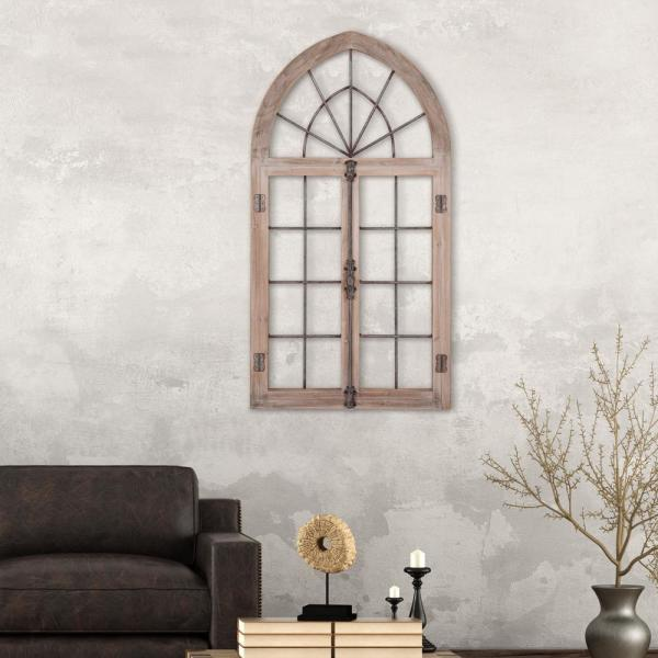 wall art of window frame