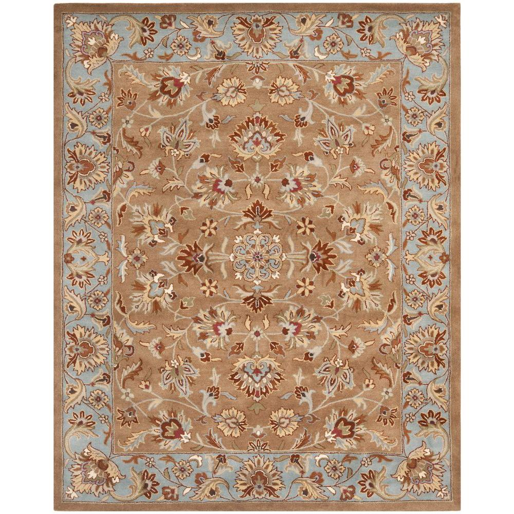 Safavieh Heritage Beige Blue 9 Ft X 12 Ft Area Rug