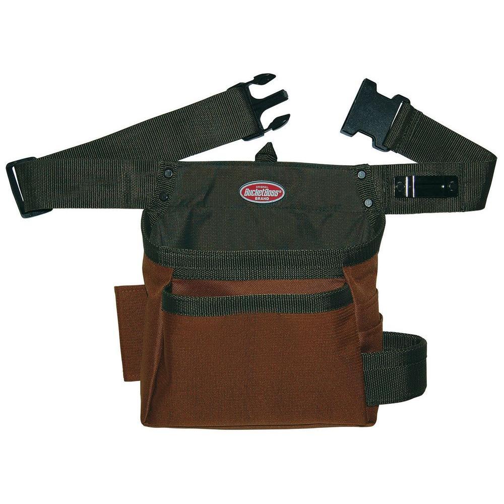 Bucket Boss 10 In Handyman S Holster 50300 The Home Depot