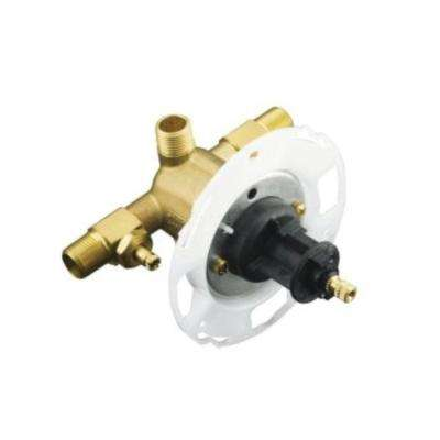 Rite-Temp 1/2 in. Pressure-Balancing Valve with Screwdriver Stops