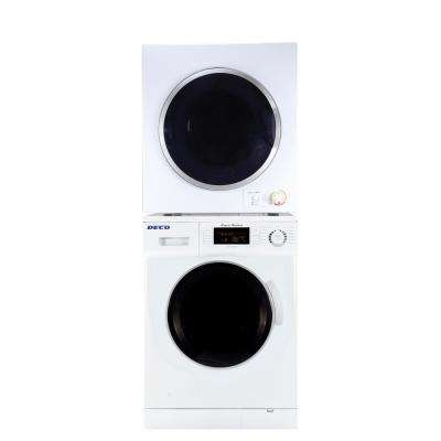 White Laundry Center with 1.6 cu. ft. Washer and 3.5 cu. ft. Electric Compact Dryer