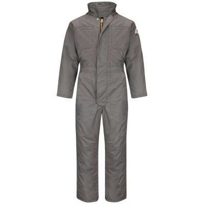 EXCEL FR ComforTouch Men's Large Gray Premium Insulated Coverall