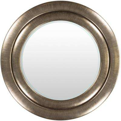 Ballett 48 in. x 48 in. Modern Framed Mirror