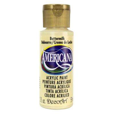 Americana 2 oz. Buttermilk Acrylic Paint
