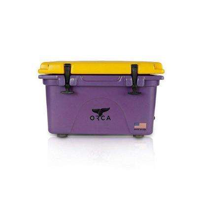 ORCA Purple/Gold 26 Qt. Cooler