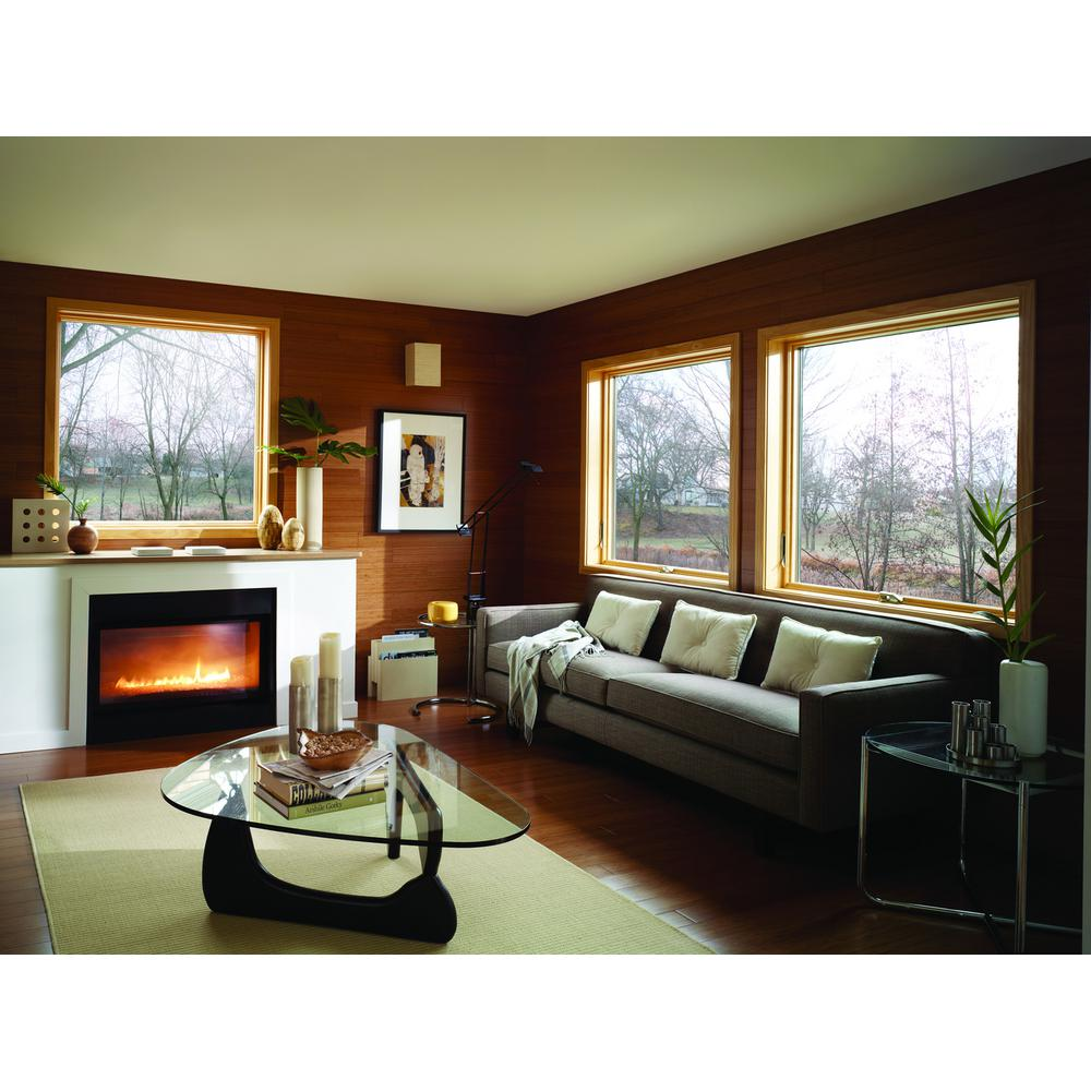 Andersen 24 125 In X 400 Series Awning Wood Window With White Exterior