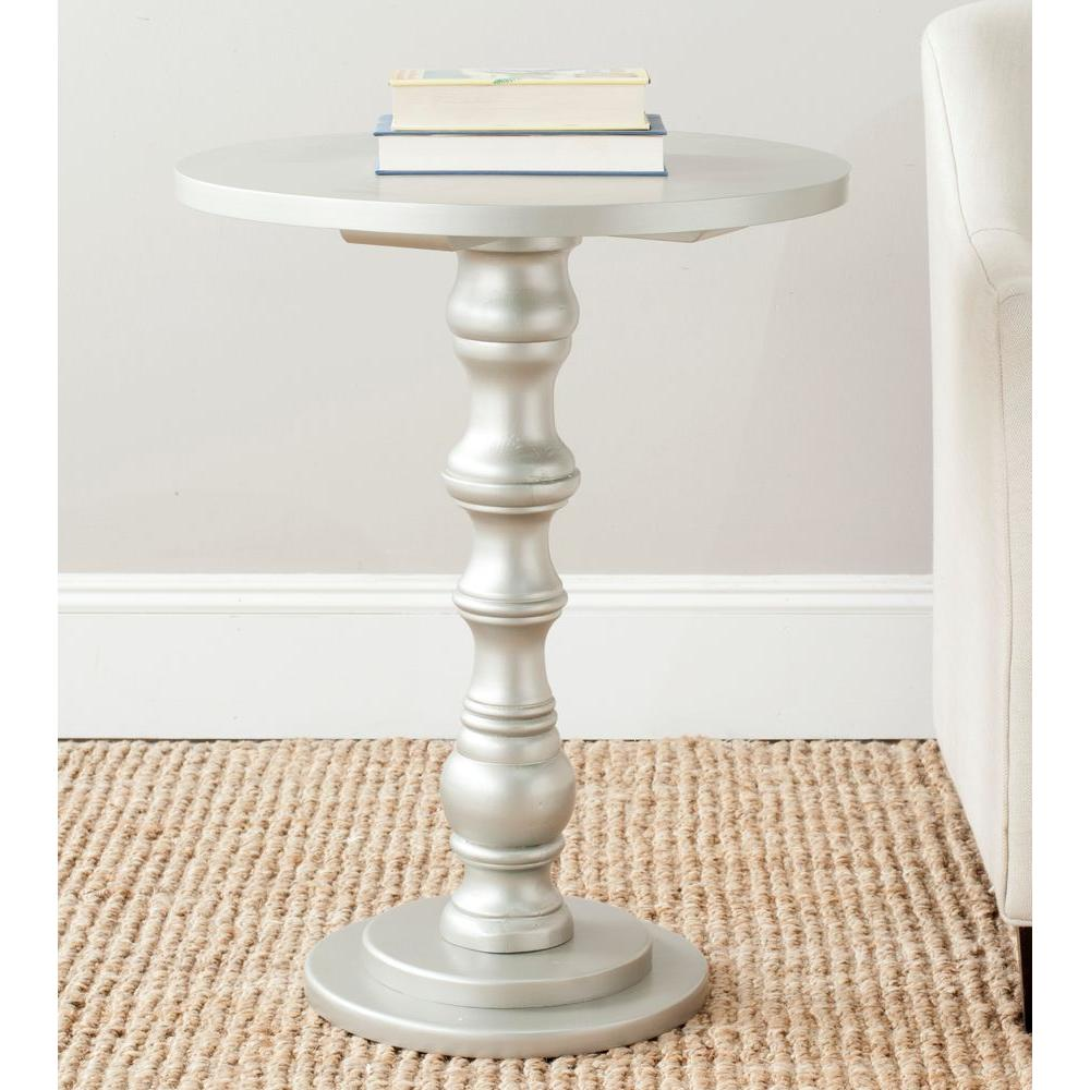 safavieh greta silver end table. safavieh greta silver end tableamhe  the home depot
