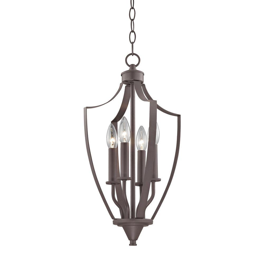 Foyer Lighting Oil Rubbed Bronze : Titan lighting foyer collection light oil rubbed bronze