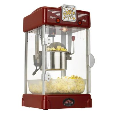 Rock'n Machine 2.5 oz. Red Countertop Popcorn Machine