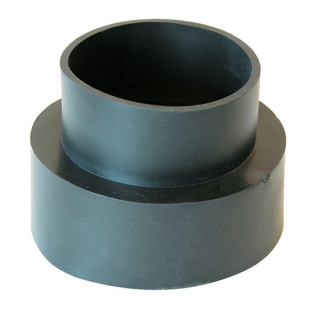 In flexible pvc downspout adapter pdsc the home depot