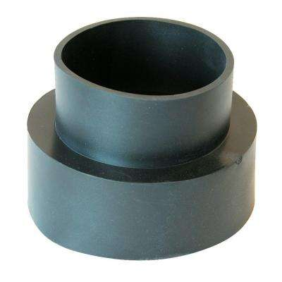 4 in. Flexible PVC Downspout Adapter