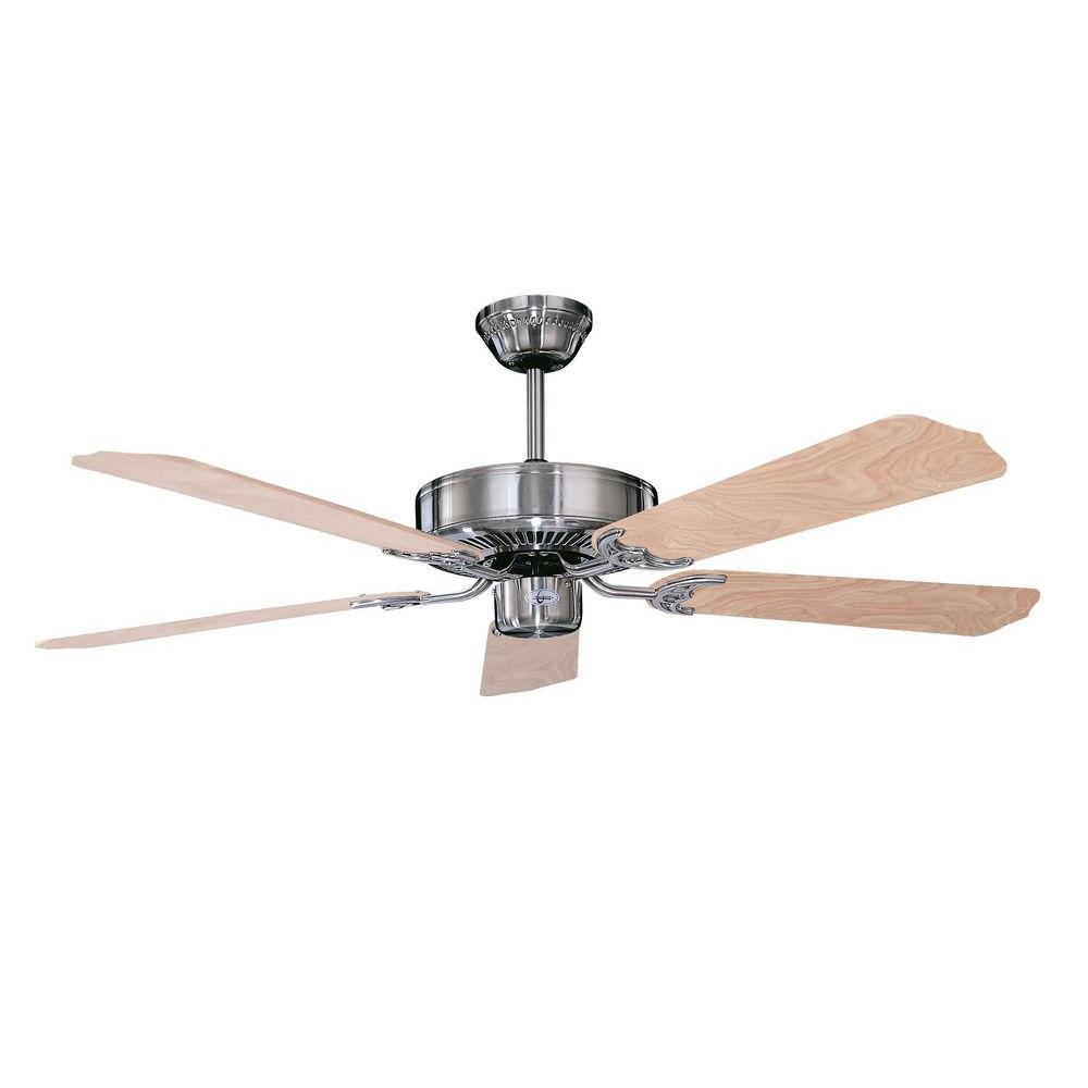 Radionic hi tech calli 42 in stainless steel ceiling fan with 5 stainless steel ceiling fan with 5 blades aloadofball Gallery
