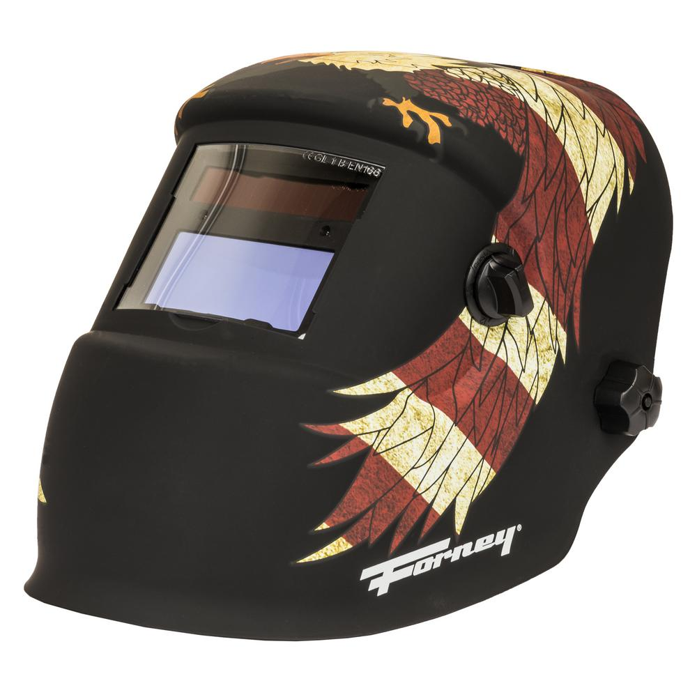 Forney Premier Series Patriot Auto-darkening Welding Helmet