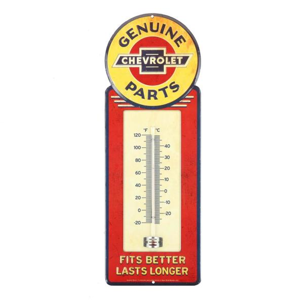 Chevrolet Genuine Parts Thermometer Decorative Sign