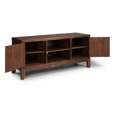 Bungalow Brown Low Profile Entertainment TV Stand