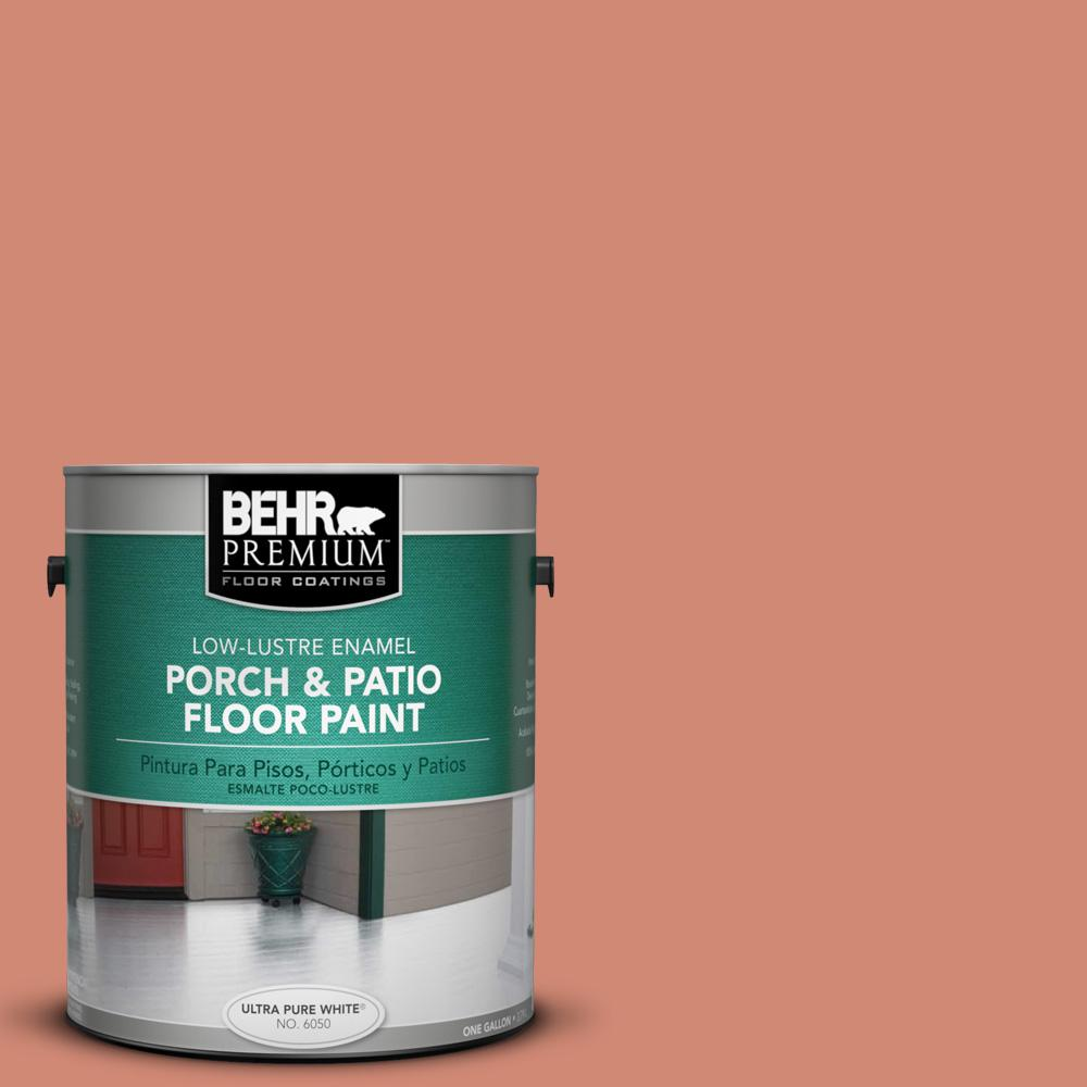 1 gal. #M190-5 Fireplace Glow Low-Lustre Porch and Patio Floor Paint