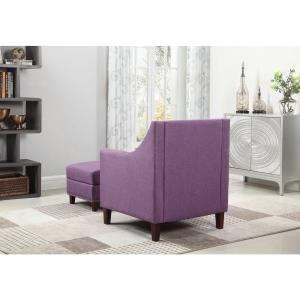 Cool Purple Accent Chair With Storage Ottoman 92013 16Pl The Gamerscity Chair Design For Home Gamerscityorg