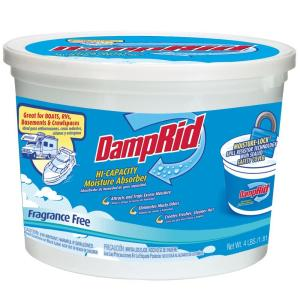 Damprid 64 Oz Fragrance Free High Capacity Moisture