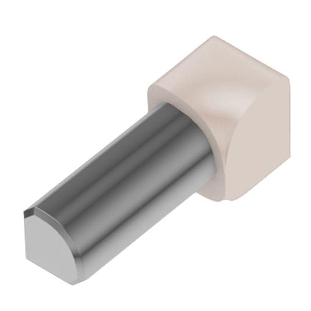 Rondec Bahama Color-Coated Aluminum 5/16 in. x 1 in. Metal 90° Inside Corner