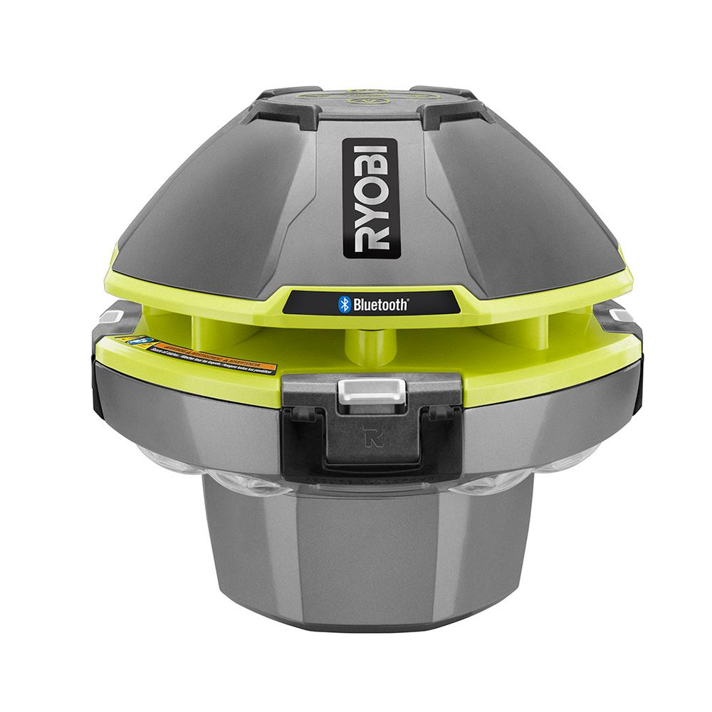 Ryobi 18 Volt One Floating Speaker Light Show With Bluetooth Tool Project 116 Subwoofer Amp Only