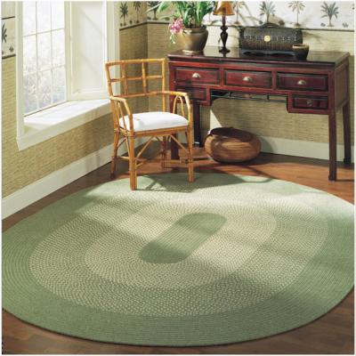 Portland Federal Blue 2 ft. x 10 ft. Braided Runner Rug