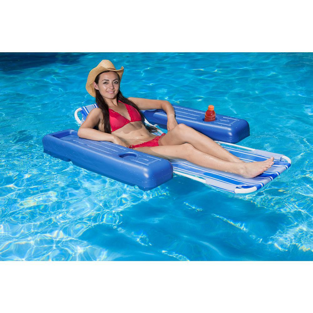 Poolmaster Caribbean Floating Swimming Pool Float Lounge-70727 - The ...