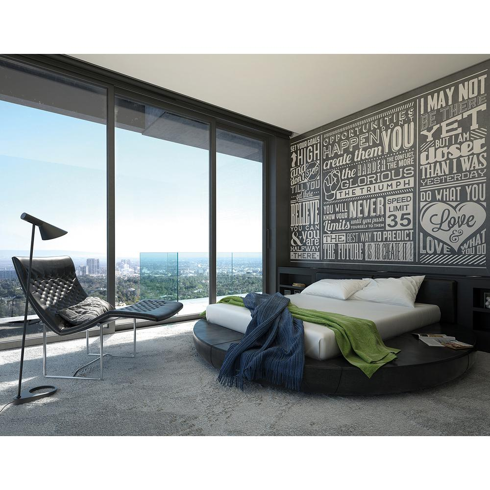 Brewster 118 in x 98 in chalk quotes wall mural wals0139 for Brewster wall mural