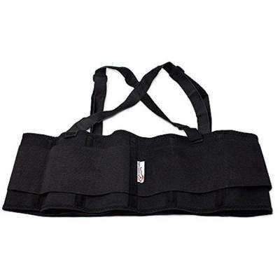 Lifting Support Weight Belt in Black