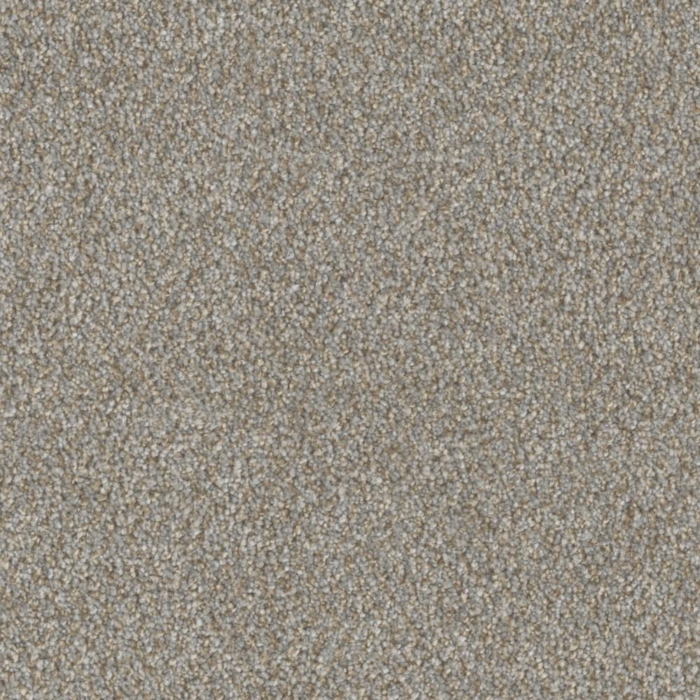 Carpet Sample - Cobblestone I - Color Yorkshire Texture 8 in x 8 in.