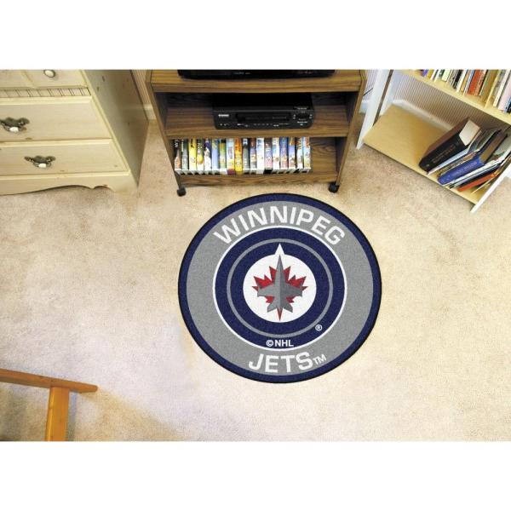 Fanmats Nhl Winnipeg Jets Gray 2 Ft X