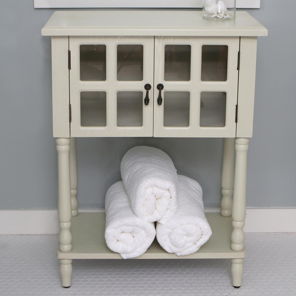 Nora Buttermilk Door Accent Table