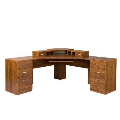 Classic Corner Desks Home Office Furniture The Home Depot