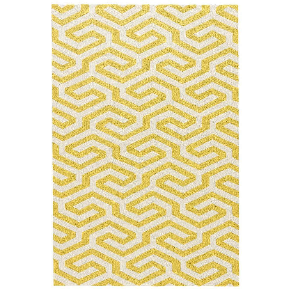 Jaipur living shorebreak bamboo 5 ft x 7 ft 6 in for Geometric print area rugs
