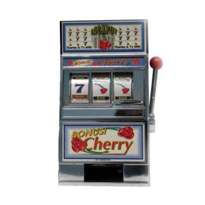 Cherry Bonus Slot Machine Bank