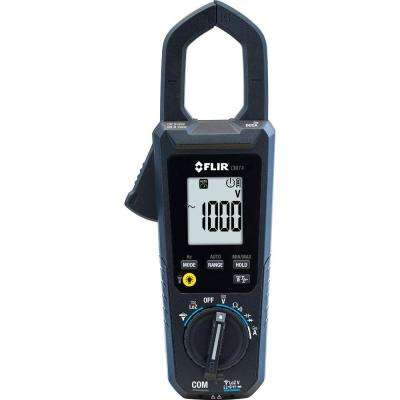 Commercial 600 Amp AC/DC Clamp Meter