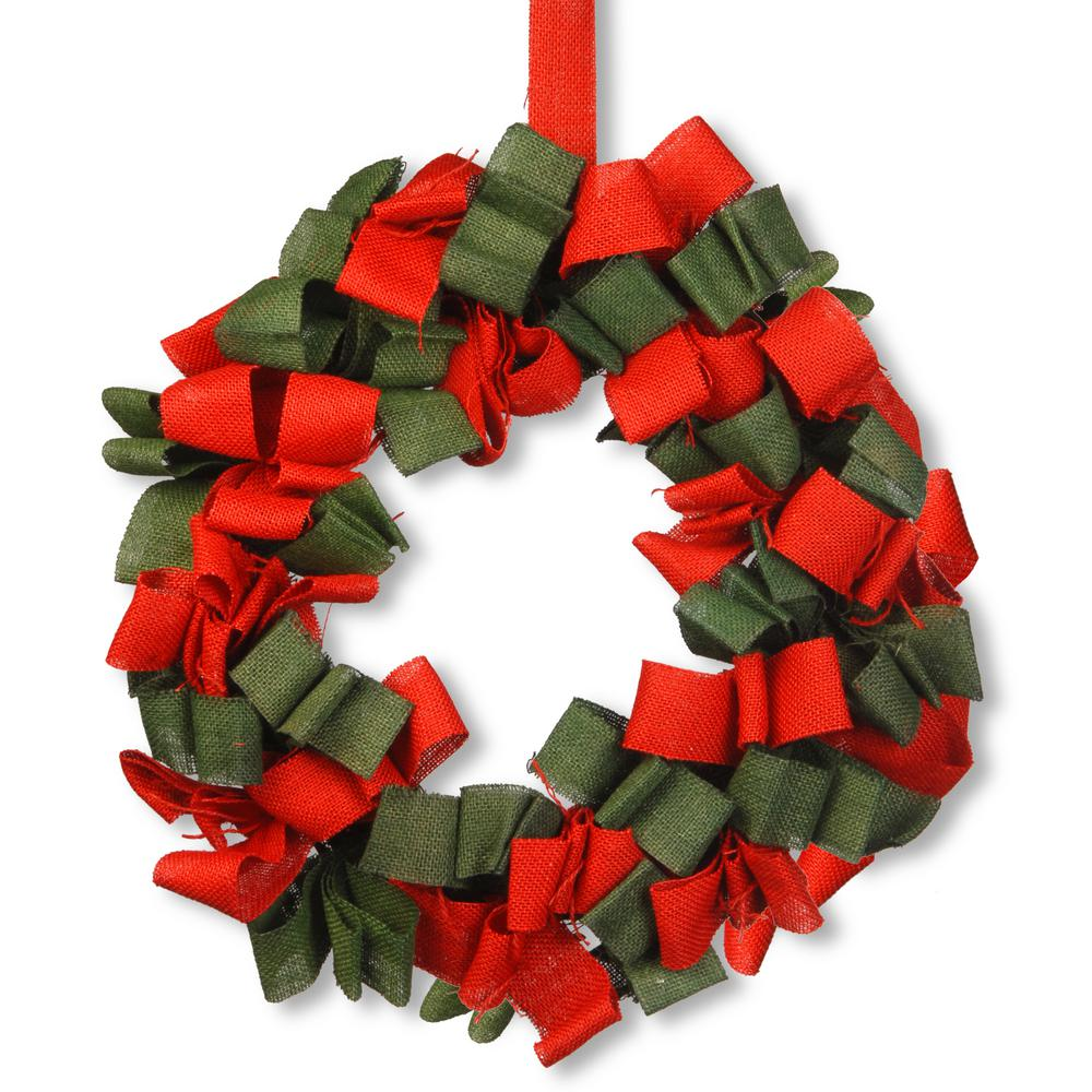 National Tree 20 in. Holiday Artificial Wreath
