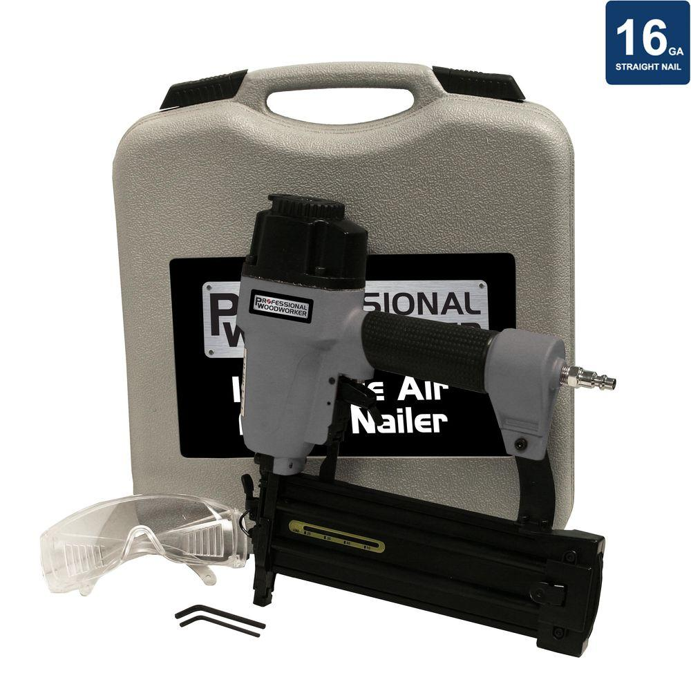 2-1/2 in. 16-Gauge 100 psi Finish Nailer with Case