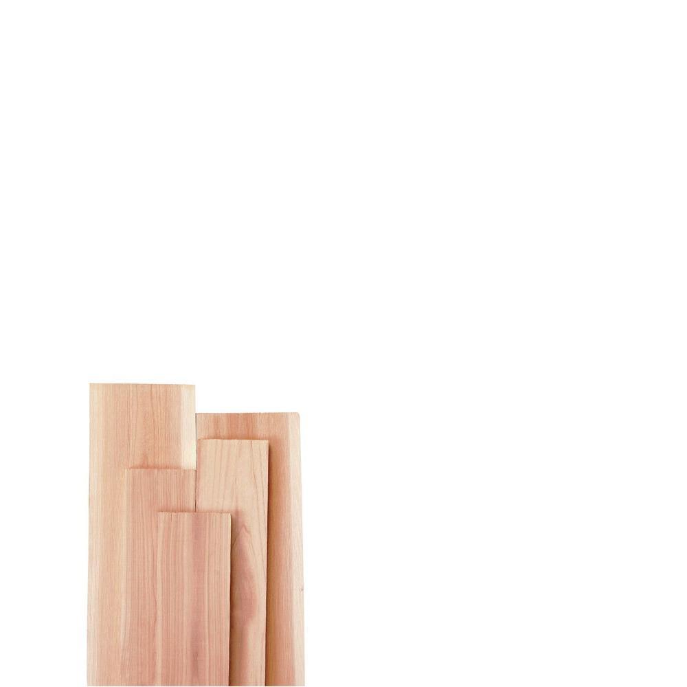 7/8 in. x 12 in. x 8 ft. Kiln-Dried Cedar Board