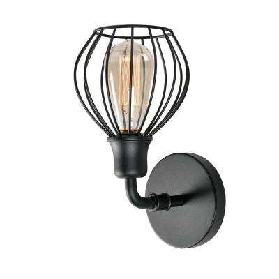 Cagney 1-Light Black Sconce